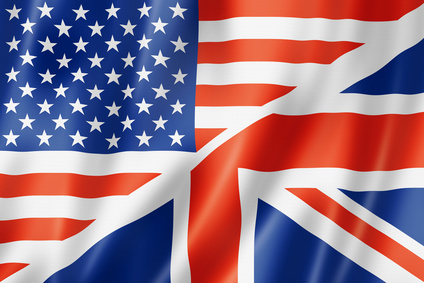 Image result for english and american flag